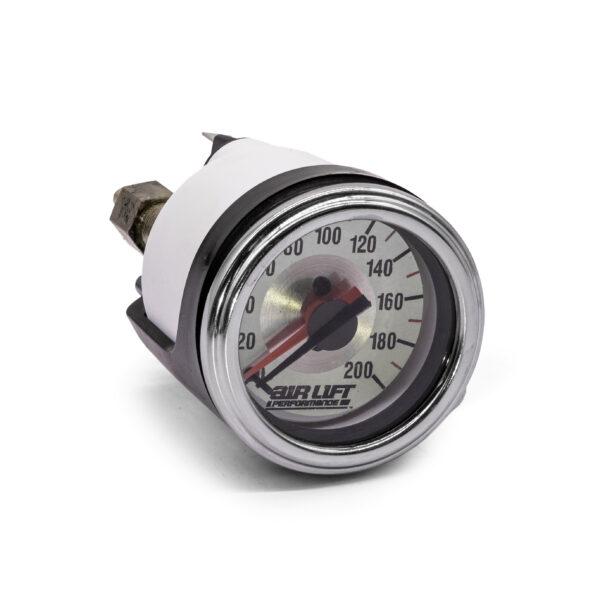 Air Ride Dual Needle Pressure Gauge 200 psi (2-Valve)
