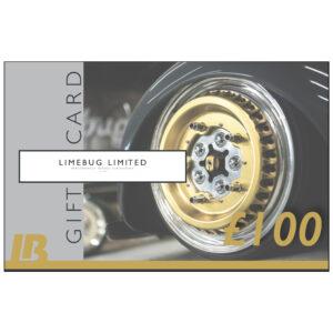 LB Limebug Gift Voucher £100