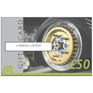 LB Limebug Gift Voucher £50